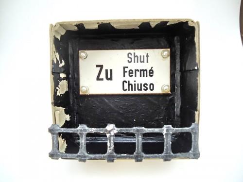Nr. 104 - Zu, Chiuso